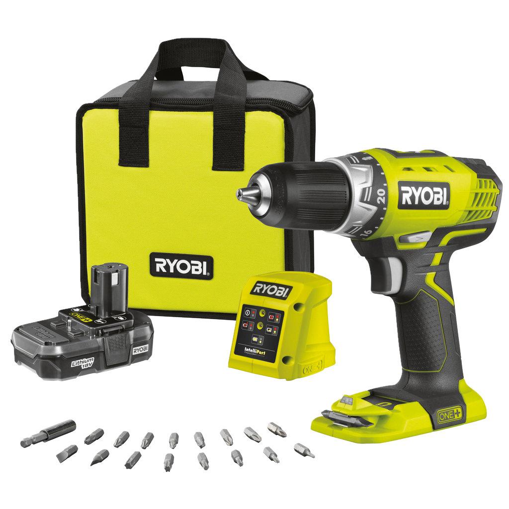 Ryobi RC18120 125 Batteri og lader Komplett.no