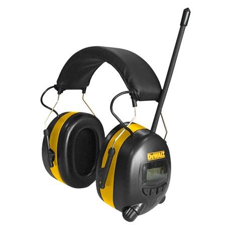 Glimrende Hørselvern med DAB+/FM-radio | DEWALT DPG14CS WV-58