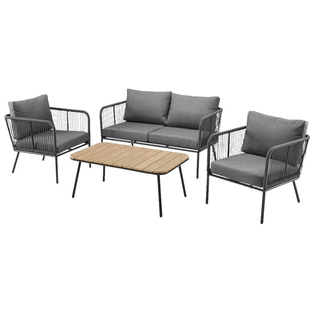 Møbelgruppe | Antrasittgrå | ALLIBERT Rosario | Jula