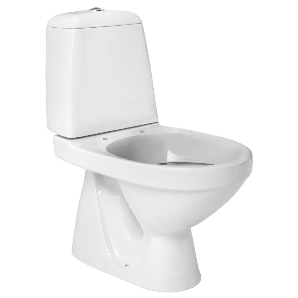 Toalett   3/6 l spylefunksjon   CERSANIT Eko   Jula