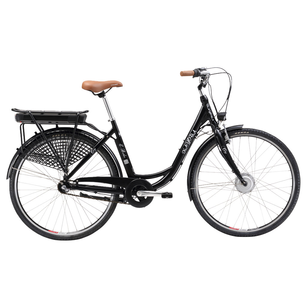 El sykkel | Fullt utstyrt | KAYOBA E legance | Jula