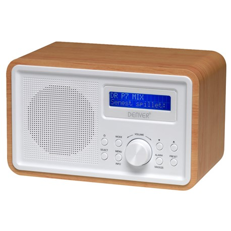 dab radio dab og digital pll fm radio denver dab 35. Black Bedroom Furniture Sets. Home Design Ideas